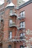 Case di Brooklyn Fotografie Stock