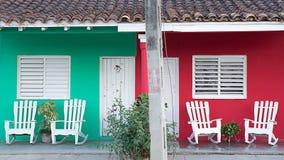Case di campagna, Cuba Immagine Stock Libera da Diritti