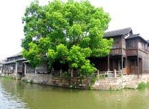 Case di città antica di Wu zhen Immagine Stock
