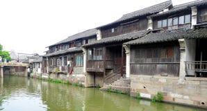 Case di città antica di Wu zhen Immagini Stock Libere da Diritti
