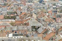 Case di Dinant, Belgio Fotografia Stock