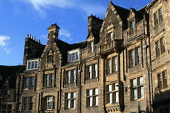 Case di Edinburgh Immagini Stock