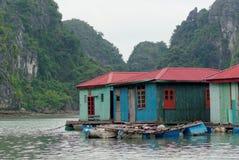 Case di galleggiamento Fotografie Stock