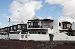 Case di Lanzarote Fotografie Stock Libere da Diritti