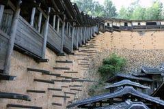 Case di legno Fotografia Stock Libera da Diritti