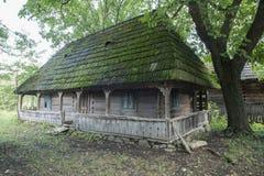 Case di legno tipiche fotografie stock libere da diritti
