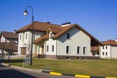 Case di lusso della proprietà Fotografia Stock Libera da Diritti