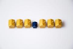 Case di monopolio Immagine Stock