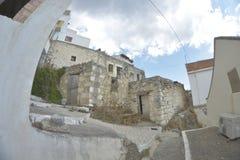 Case di pietra Immagine Stock