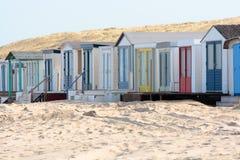 Case di spiaggia Fotografia Stock Libera da Diritti