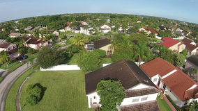Case di Suburan in Florida Immagine Stock