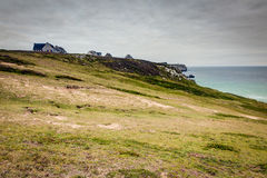 Case di vacanza della spiaggia Fotografie Stock Libere da Diritti