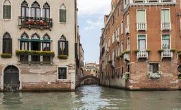Case di Venezia Immagine Stock