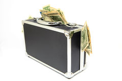 Case of dollars Royalty Free Stock Photos