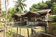 Case e lendscapes rurali dell'India fotografia stock libera da diritti