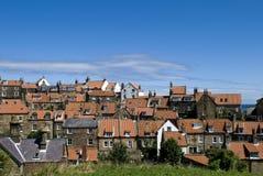 Case e tetti della baia dei cappucci di Robin Immagine Stock Libera da Diritti