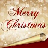 Case el fondo de la Navidad Fotos de archivo