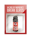 In case of emergency break glass Stock Photography