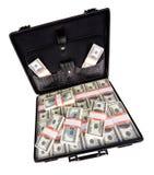 Case full of dollar Stock Images