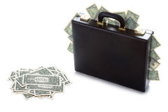 Case full of money Stock Images