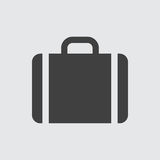 Case icon illustration. Vector sign symbol Royalty Free Stock Images