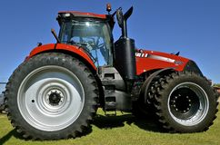 Case IH  tractor on display Royalty Free Stock Photos