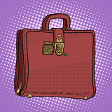 Case leather bag business businessman style Royalty Free Stock Photo