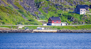 Case locali in Norvegia Fotografia Stock