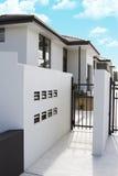 Case moderne dello stucco Immagine Stock