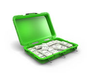 Case with the money Royalty Free Stock Photography