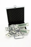 Case with money Royalty Free Stock Photography