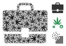 Case Composition of Marijuana vector illustration