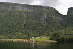 Case norvegesi Immagini Stock Libere da Diritti