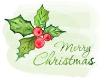 Case o cartão de Natal ilustração do vetor
