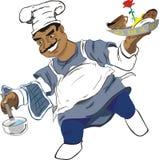 Case o cozinheiro ilustração stock
