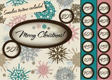 Case o poster do Natal com textura sem emenda. Ilustração Stock