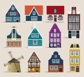 case olandesi royalty illustrazione gratis