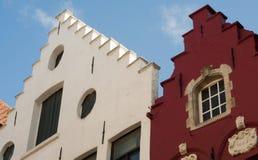 case Punto-coperte a Bruges fotografie stock libere da diritti