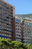 Case residenziali alte con i balconi Fotografia Stock