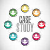 Case study community sign concept Royalty Free Stock Image