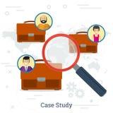 Case study concept Stock Image