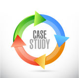 Case study cycle sign concept Stock Photography