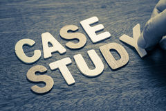 Case Study Royalty Free Stock Photography