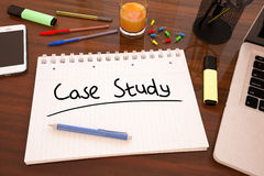 Case Study Royalty Free Stock Photos