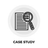 Case Study Icon Stock Image