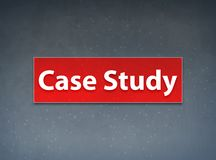 Case Study Red Banner Abstract Background royalty free illustration