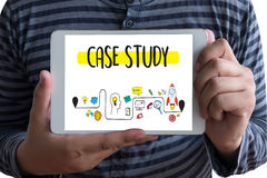 CASE STUDY Student Studying Hard and Students Learning Education. Diverse People  Campus Royalty Free Stock Images