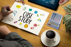 CASE STUDY Student Studying Hard and Students Learning Education Stock Photos