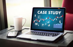 CASE STUDY Student Studying Hard and Students Learning Education Royalty Free Stock Images