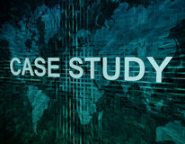 Case Study Stock Image